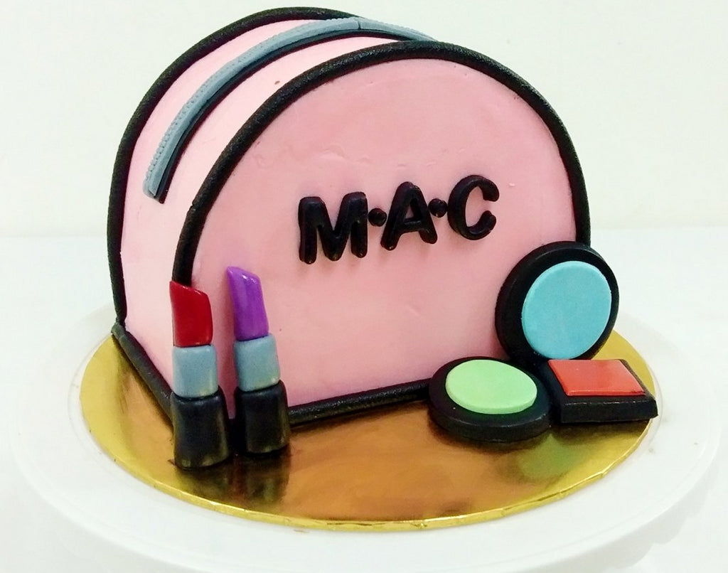 Mac Cosmetic Bag Cake