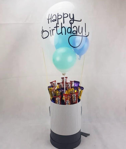 Mixed Chocolates in Birthday 'Hot Air Balloon'