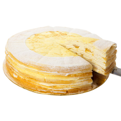 Mango Cheese Mille Crepe