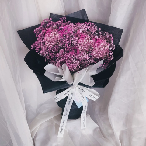 Pink Baby Breath Bouquet (Kuching Delivery Only)