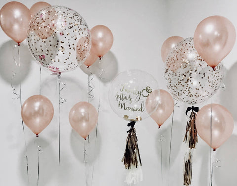 Bubble Balloon Giant Bouquet