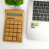 Personalized Wooden Calculator with Wordings (4-6 working days)