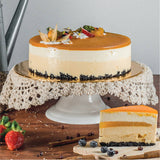 Mango Jelly Cheesecake