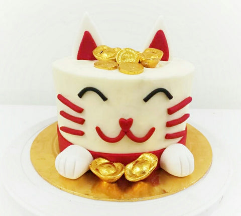 CNY 2019 Prosperity Cat Cake