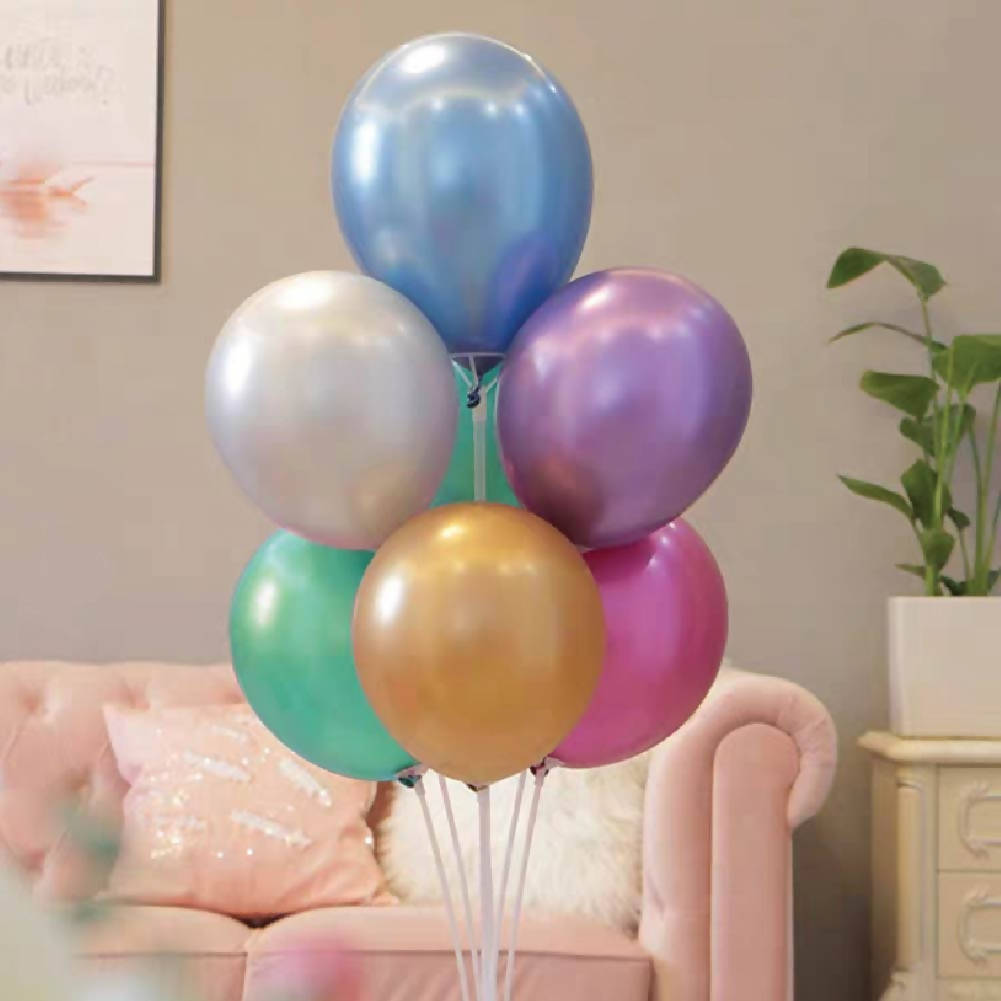 Colorful Helium Balloon Bunch