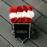 Darling (Valentine's Special) (Red & White Roses)