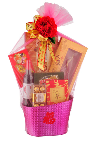 CNY Premium Hamper - BLESSING 迎春接福 Chinese New Year 2019 (Free Delivery Within West Malaysia)