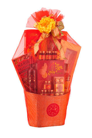 CNY Luxury Hamper - BLOOMING 春暧花开 Chinese New Year 2019 (Free Delivery within West Malaysia)
