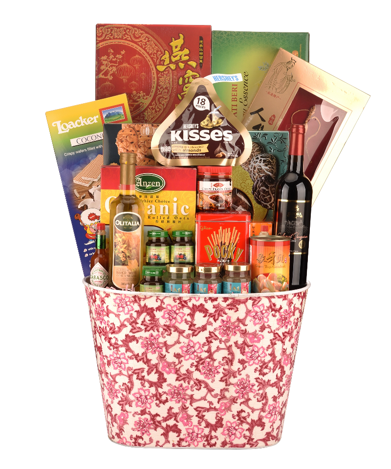 CNY Luxury Hamper - BLOSSOM 春回大地 Chinese New Year 2021 (Free Delivery Within West Malaysia)