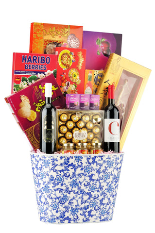 CNY Luxury Hamper - BLOSSOM 春回大地 Chinese New Year 2019 (Free Delivery within West Malaysia)