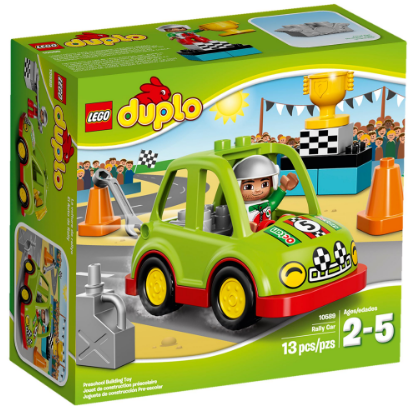 Lego Duplo Rally Car (2-5 Years)