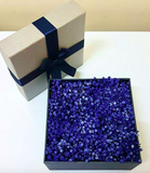 Dark blue baby breath box