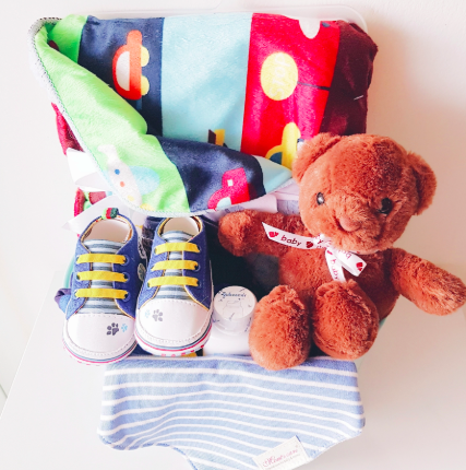 Franklin Bear Baby Gift Basket