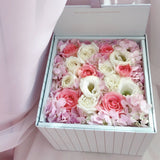 Eighteen Blossom's Flower Box Gift Set - Small Square Box