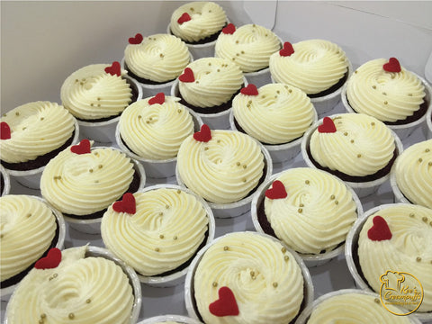 Box of 12 Red Velvet Cupcakes (Self Pickup Only)