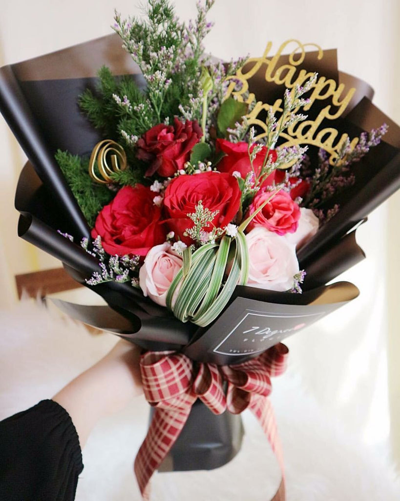 Happy Birthday Bouquet | Giftr - Malaysia\'s Leading Online Gift Shop