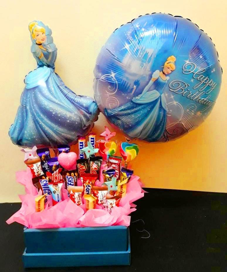 Cinderella Birthday Chocolate Box