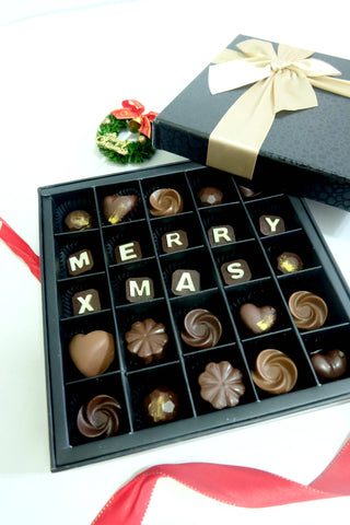 Christmas 2018 Elegant Chocolate Praline Gift (25pcs)