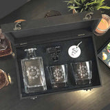 Personalized Whiskey Decanter Set (Design 1) (6-8 working days)