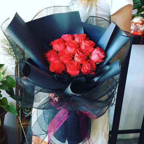 Red Rose Bouquet (Kota Kinabalu Delivery Only)