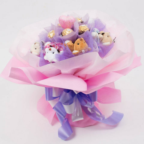 Soft Toy Chocolate Hand Bouquet 1
