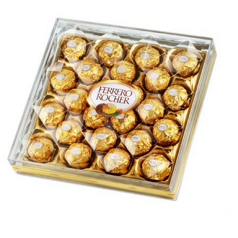 Ferrero Rocher Chocolates (24 pcs)
