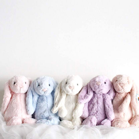 Personalised Jellycat Bashful Bunny (Medium)
