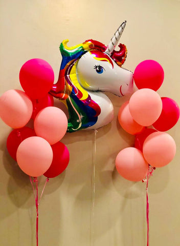 Unicorn Foil Balloon Set
