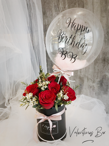 V Flowers Box (V13) - Valentine's Day 2019