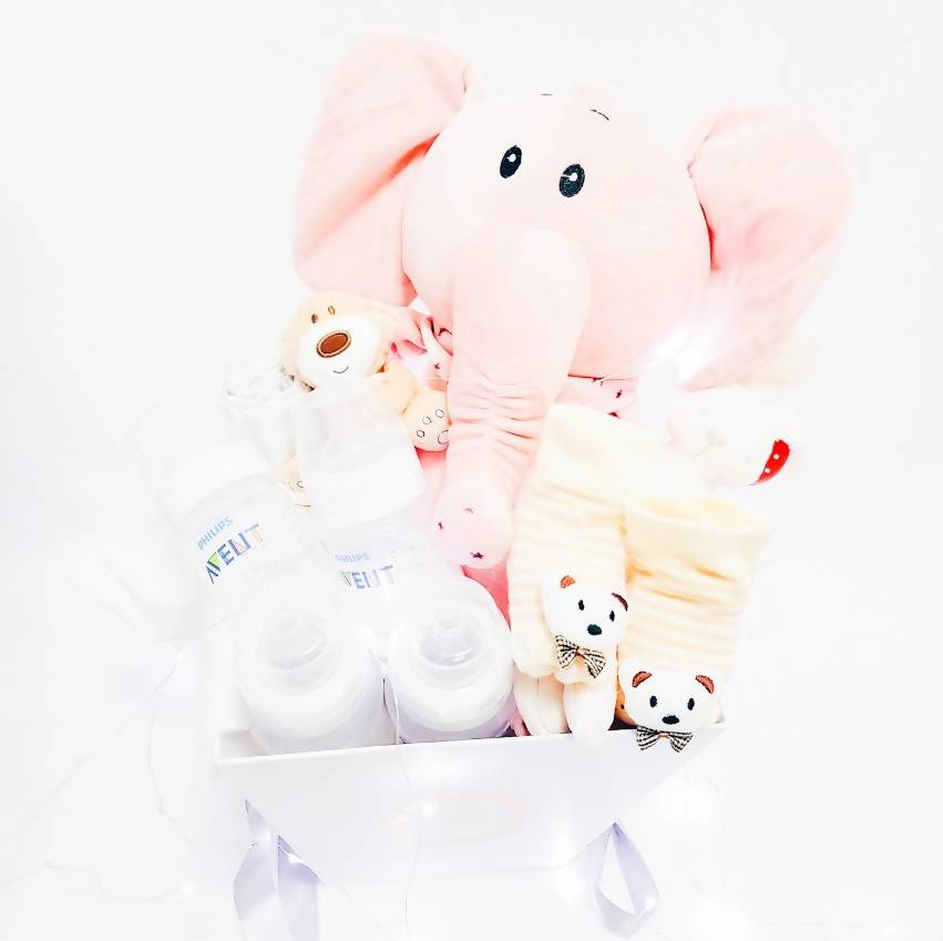 Sweets Baby Girl Gift Basket