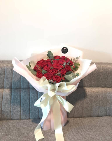 Red Rose Flower Bouquet (Kota Kinabalu Delivery Only)