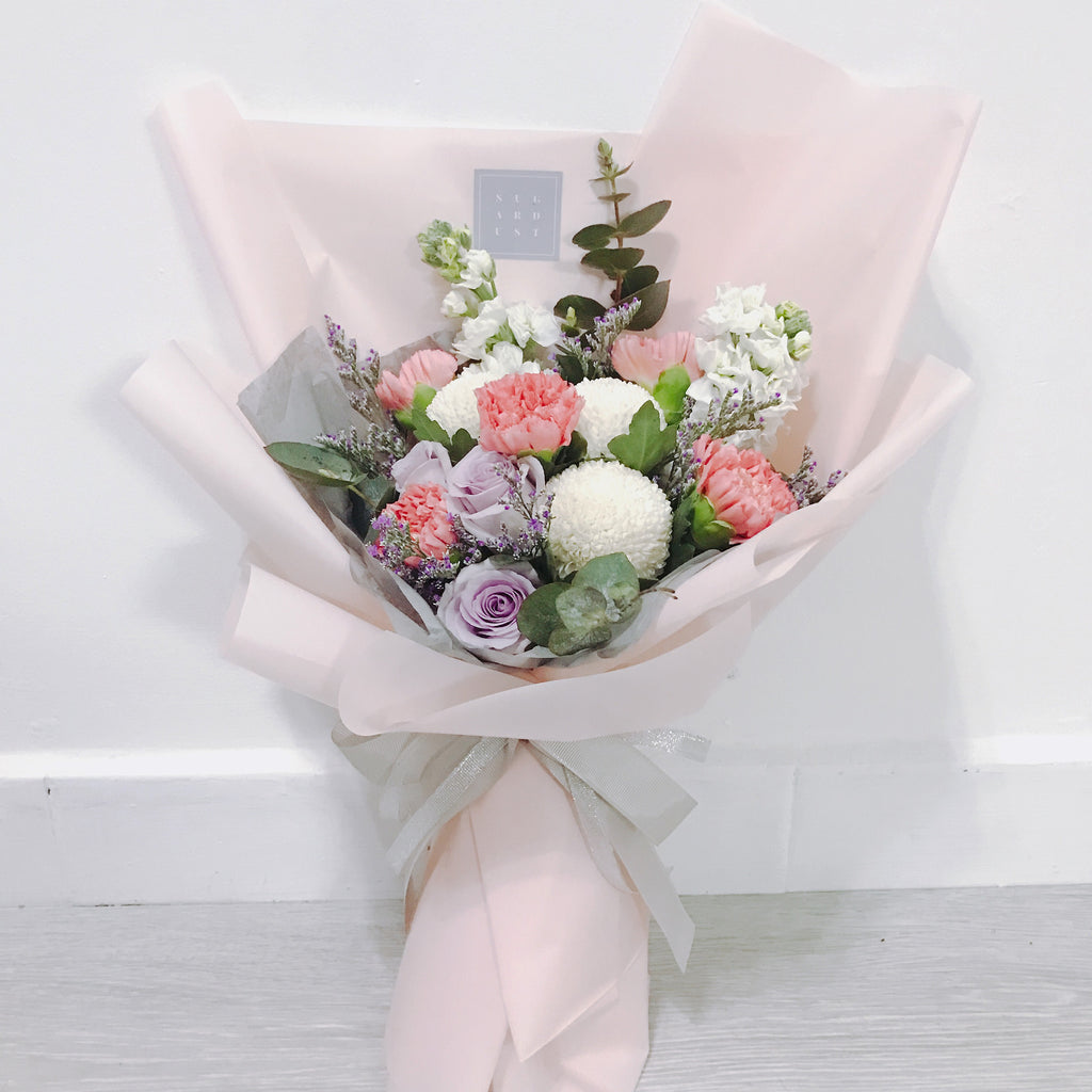 Pastel Rose Carnation Bouquet