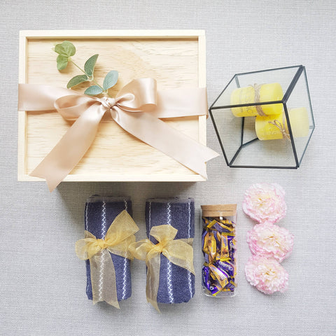 PINE WOOD GIFT SET 03 (Klang Valley Delivery)