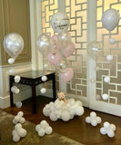 Teddy Bear on Cloud Balloon Bouquet
