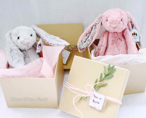 Personalised Jellycat Bashful Bunny (Huge)