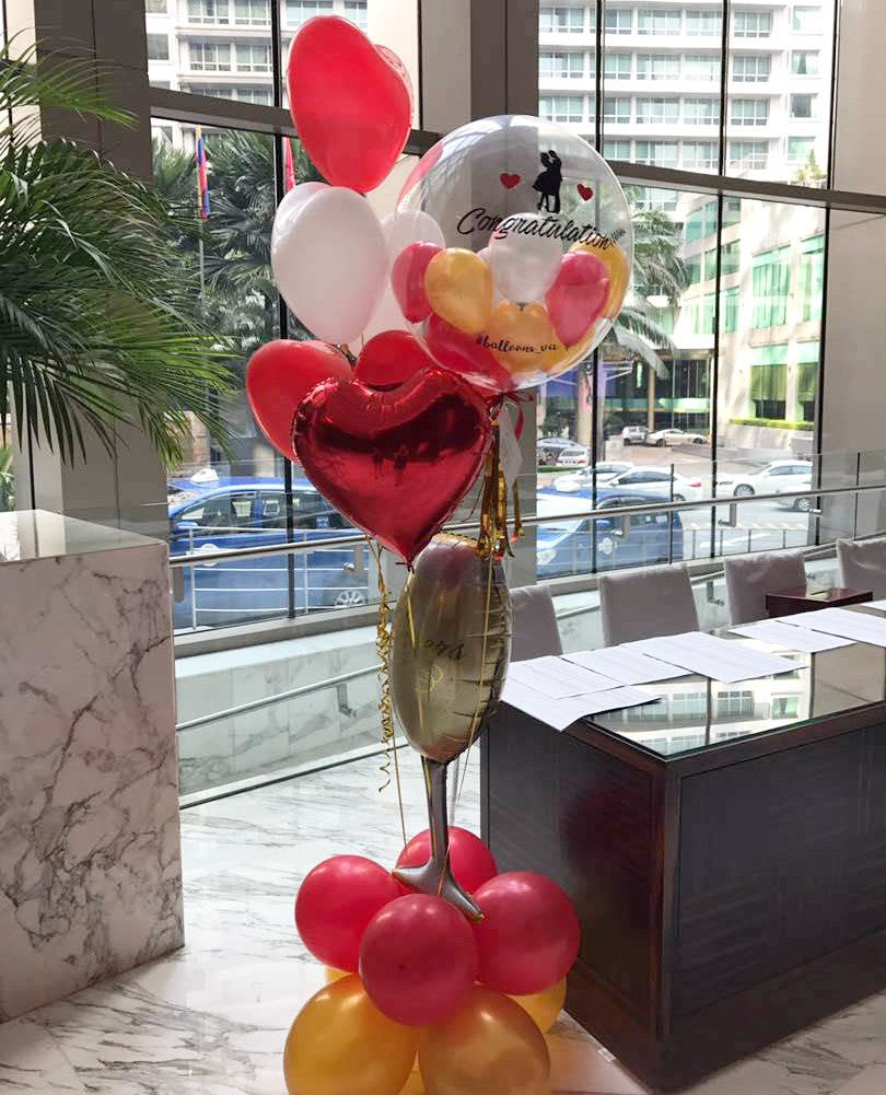 Wedding Bubble Balloon Package