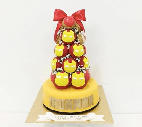 Iron Man Croquembouche Tower