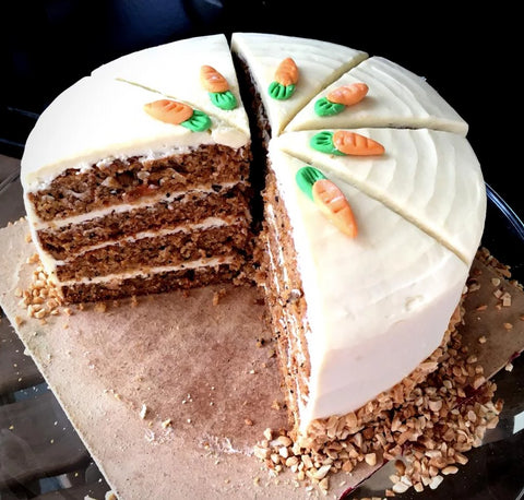 Moist Carrot Cake with Cream Cheese (Negeri Sembilan Delivery Only)