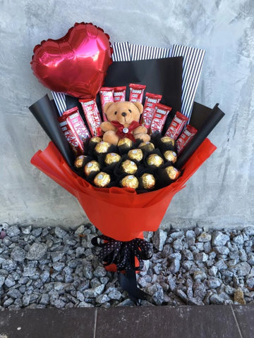 Ferrero Chocolate Bouquet  (Penang Delivery only)