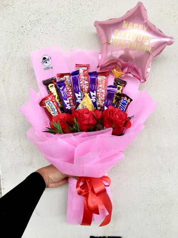 Mix Chocolate Bouquet (Penang Delivery only)