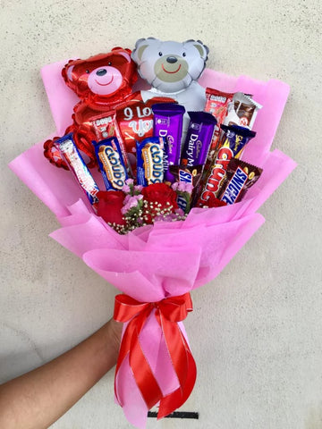 Mix Chocolate Bouquet 6 (Penang Delivery only)