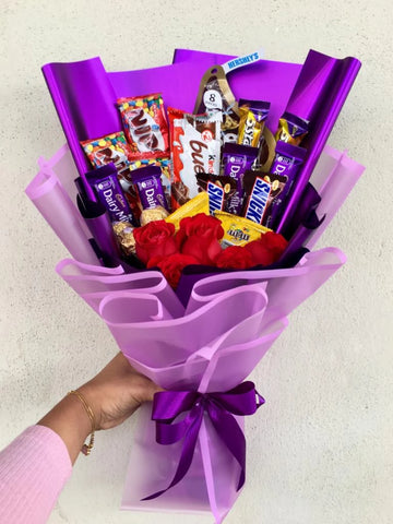 Mix Chocolate Bouquet 5 (Penang Delivery only)