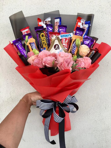 Mix Chocolate Bouquet 4 (Penang Delivery only)
