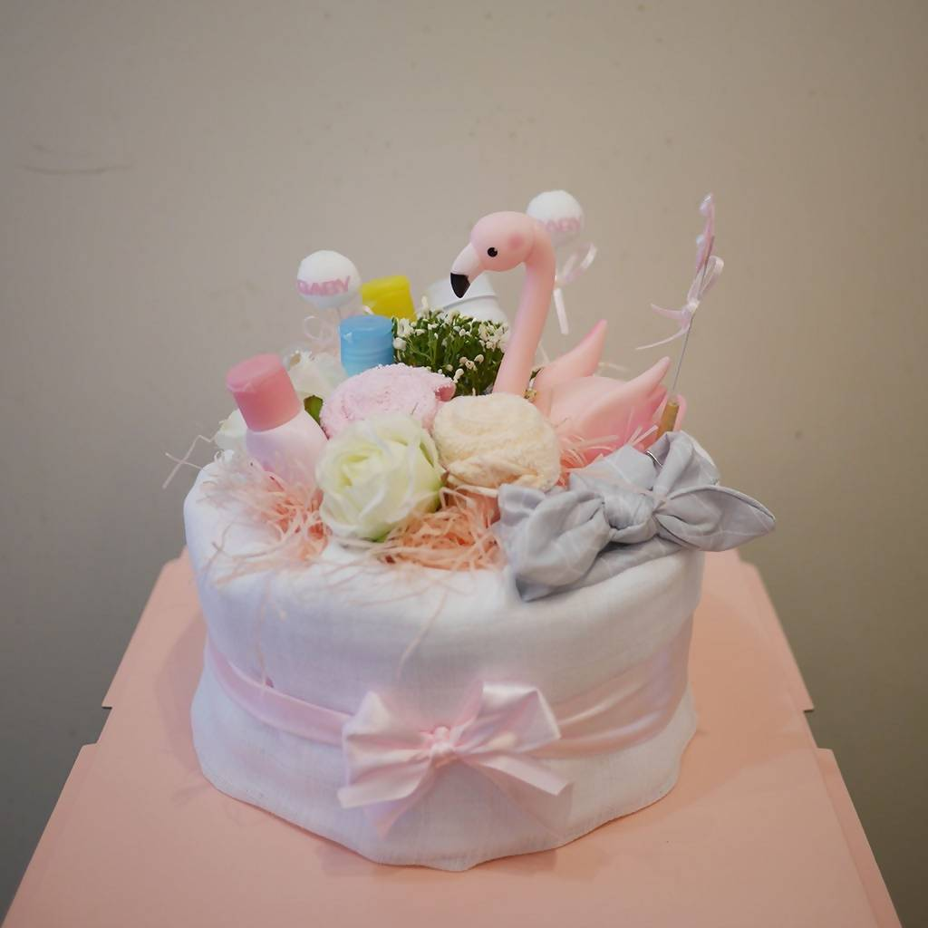 Baby Smile Nappy Cake (Penang only)