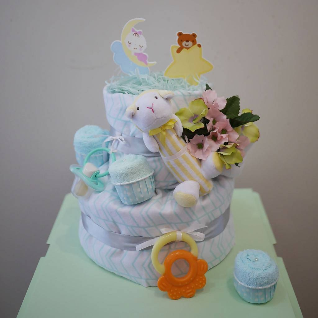 Tiny Feet Nappy Cake (Penang only)