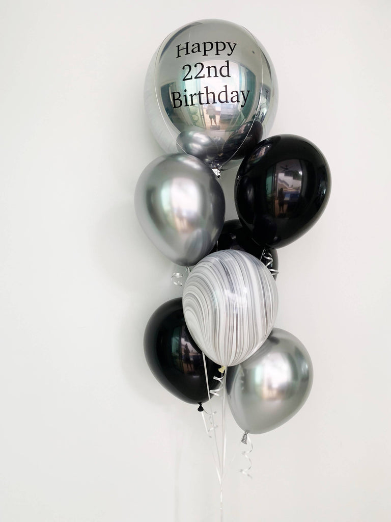 Deluxe Orbz Balloon Bouquet