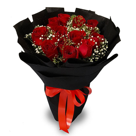 You Are My Destiny Roses (Penang Island Delivery)