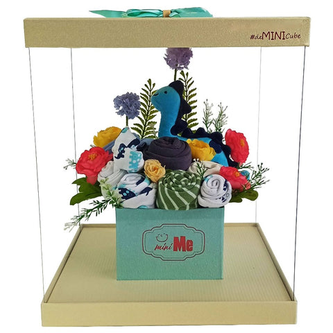 100 Days Gift Bouquet for New Born Baby Boy - HDB 013