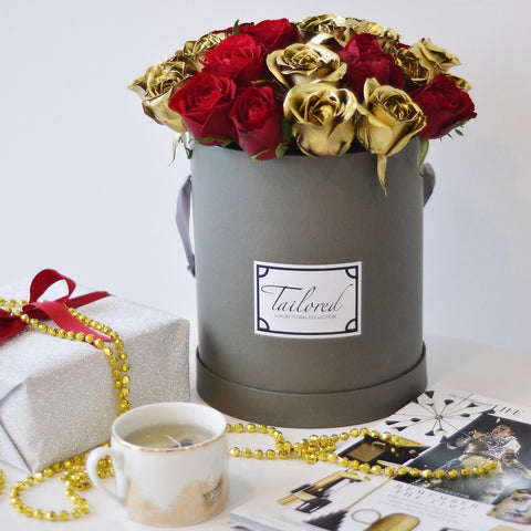 Red & Gold Blooms Special Edition Box