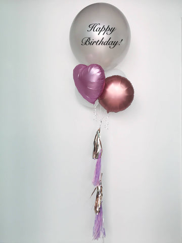 Satin Luxe Balloon Bouquet